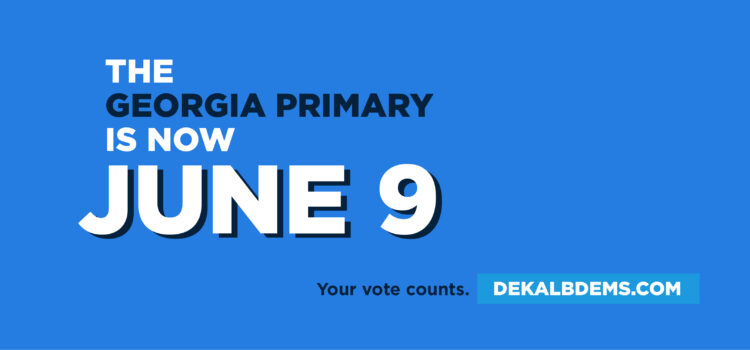 June 9 (In Person) Primary Early Voting