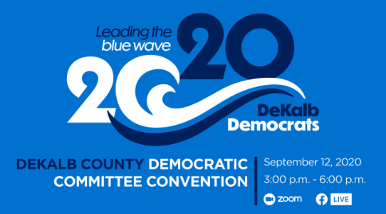 """Leading the Blue Wave 2020"" DCDC Convention"