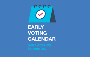 Advance In-Person Voting Begins October 12!